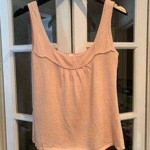 Maje Paris peach coloured sleeveless top. Size 1